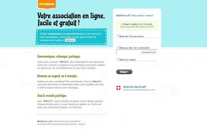 672b636633ffe Créer votre site web associatif en quelques minutes et quelques clics ...