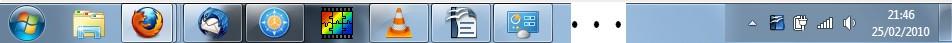 Barre de Taches Windows 7