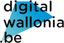 digital wallonia logo couleur