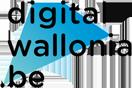 digital wallonia logo couleur