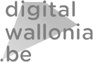 digital wallonia logo noir et blanc